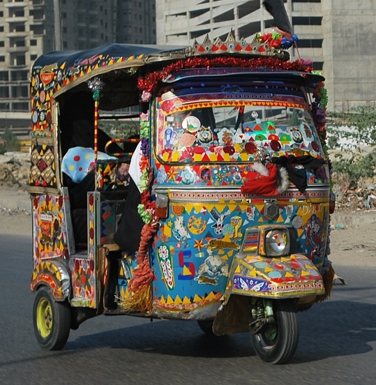 Rickshaw Colors - Karachi, Pakistan  BEEN