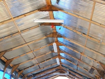 corrugated steel patio cover | Backyard | Pinterest | Home ...
