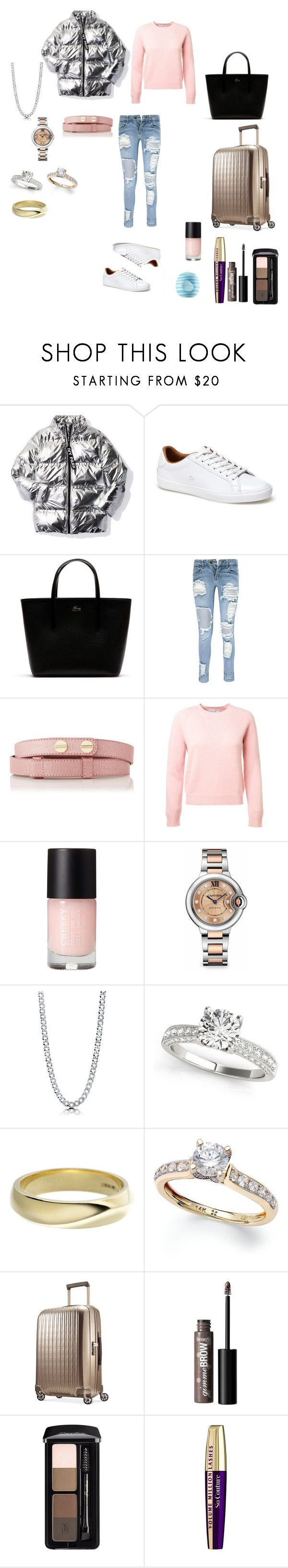 """Untitled #1143"" by loreta-798 ❤ liked on Polyvore featuring Ivy Park, Lacoste, Boohoo, L.K.Bennett, Cartier, BERRICLE, Shaun Leane, Hartmann, Guerlain and L'Oréal Paris"