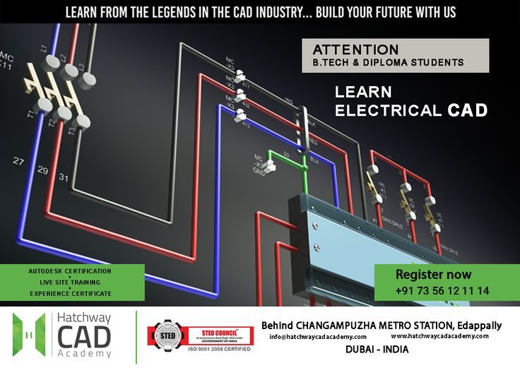 Attention B.Tech & Diploma Graduates !  Design Your Future Well In Advance With Our Electrical CAD Course  Hatchway CAD Academy  Building No. 1339H1 & 1339H2,  1st Floor, Behind Changampuzha Metro Station,  Edappally, Cochin, Kerala, India- 682024  Ph : 7356121114, 9544222217 Email : hatchwaycad@gmail.com Visit : http://hatchwaycadacademy.com/ #cadcentreinkerala #bestcadcentreinkochi #electricalcadcoursesinkochi