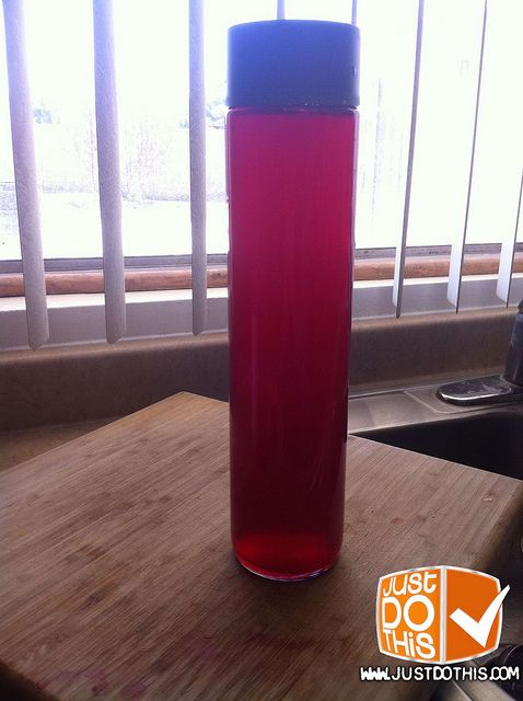 Half Cranberry concentrate and water cleanses the liver AND helps eliminate cellulite     This is my legs ,orange peel skin we all have it. The solution I found was