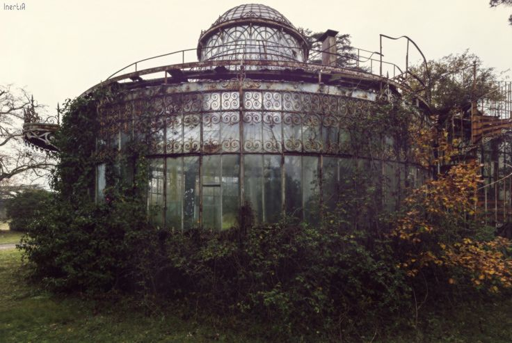 "steampunktendencies: "" Abandoned Greenhouse Photos Nicolas Mas """