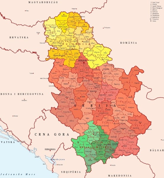 Best Maps And Mapping Images On Pinterest History Maps And - Serbia clickable map
