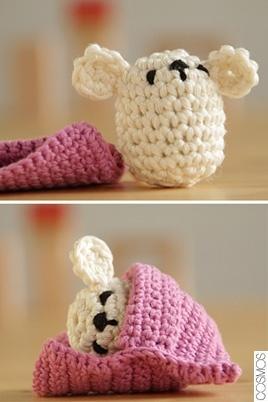 crochet little mouse