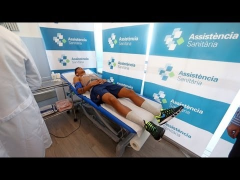 FOOTBALL -  FC Barcelona - La revisión médica de Neymar en la Ciudad Deportiva - http://lefootball.fr/fc-barcelona-la-revision-medica-de-neymar-en-la-ciudad-deportiva/