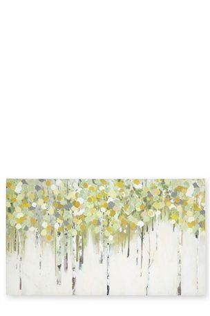 Birch Forest Canvas (70 by 120)
