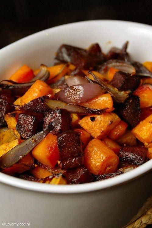 Winterse groenten uit de oven - Lovemyfood.nl
