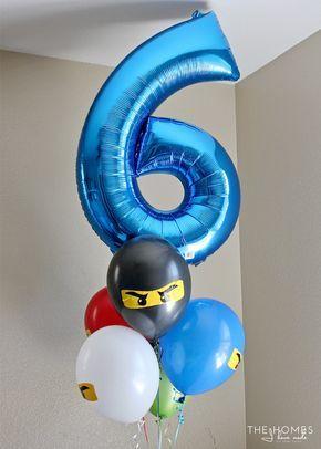 DIY Ninjago Party Decor (Henry's 6th Birthday Party