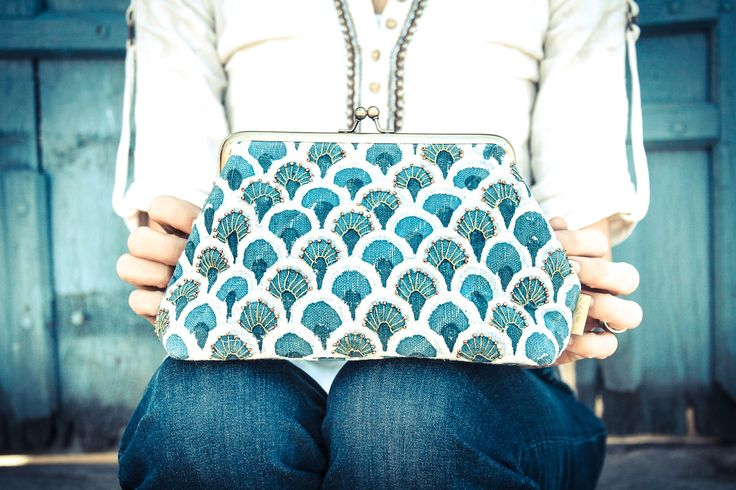 With every purchase of this beautiful Beaded Clasp Clutch, we have dedicated a percentage to earthquake relief efforts for Nepal. JOYN | TO THE MARKET