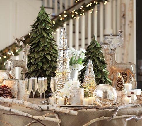 Design Rumah: 15 Contoh ide2 dekorasi centre piece( hiasan meja makan di tengah2) ruang makan di hari natal, fresh christmas decorating ideas