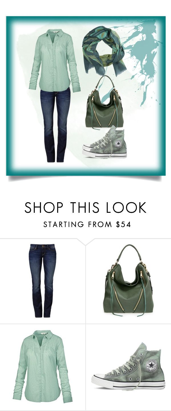 Desert Sage by feelseelive on Polyvore featuring Fat Face, Mavi, Converse, Rebecca Minkoff and Pistil: