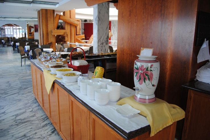 Breakfast at Hotel Servatur Green Beach, Patalavaca, Gran Canaria
