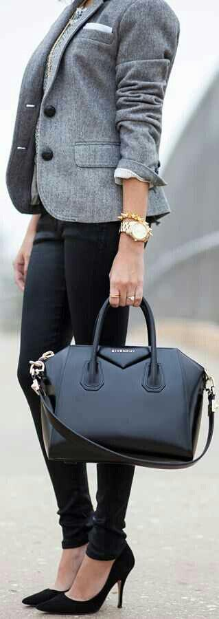 Does not go with my boho side, but I really like structured bags.
