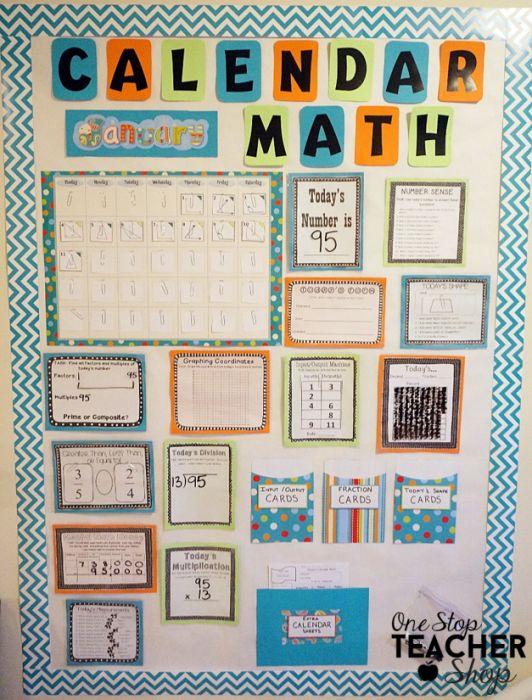 Kindergarten Calendar Math Lesson Plans : Calendar math lesson plans third grade ideas about