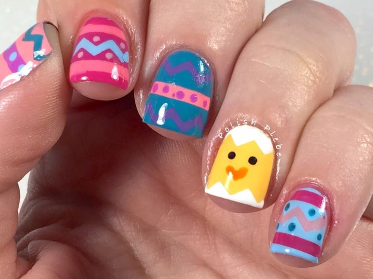 496 best Nail Art - Easter and Spring images on Pinterest   Easter ...