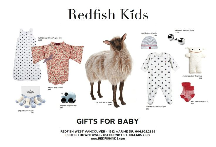 Gifts for Baby www.redfishkids.com