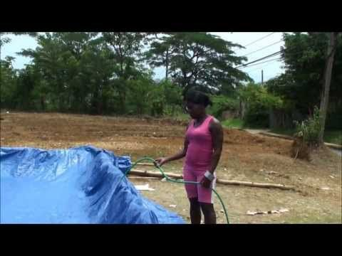 MUST SEE... JAMAICAN HOME-MADE SWIMMING POOL... - YouTube