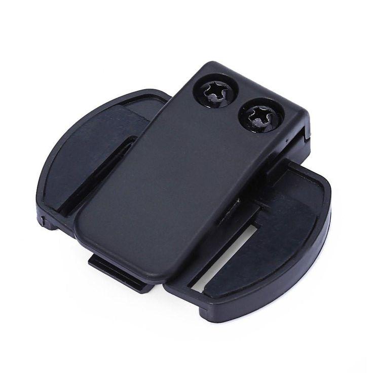 V6 BT Bluetooth Motorcycle Helmet Intercom Headset of Motorbike Bracket Clip Holder for V6 Motorcycle Helmet Compact to Use