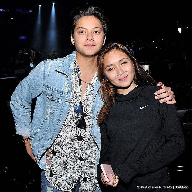 This is Daniel Padilla and Kathryn Bernardo smiling for the camera during the rehearsals of ASAP Live in New York at the Barclays Center in New York City last September 3, 2016. #DanielPadilla #KathrynBernardo #KathNiel #KathNielBernaDilla #ASAPLiveinNewYork