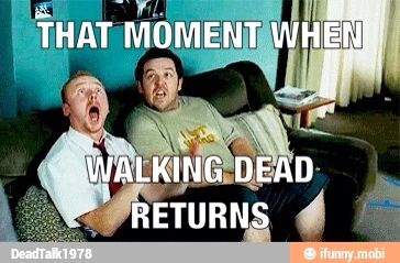 THIS IS THE BEST THING EVER! A mashup of TWD and Shaun of the Dead... btw LOL his face