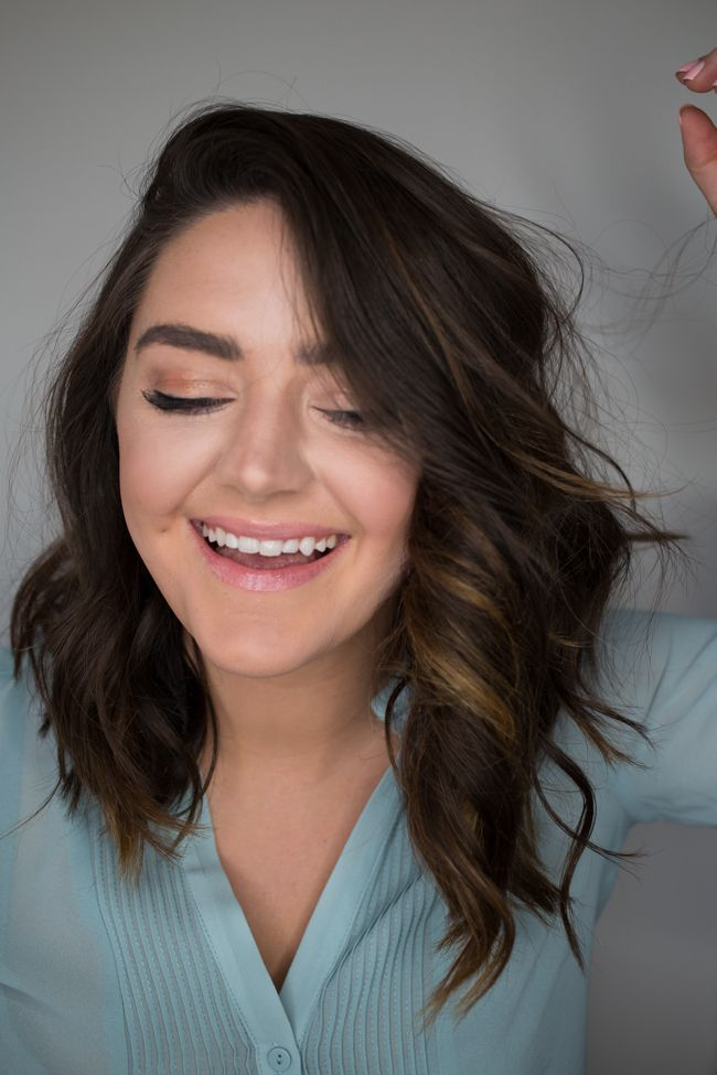 assymetrical lob cut from Updated Hair Care Routine + Products via @maeamor