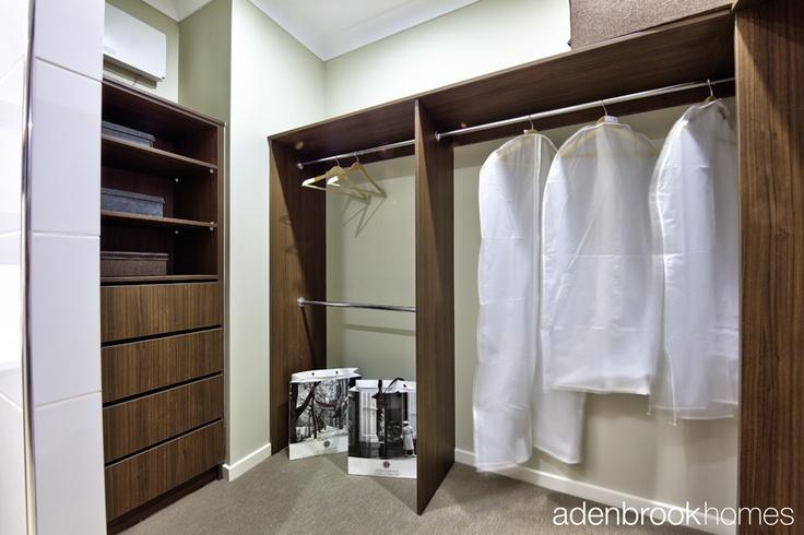 Walk in wardrobe.