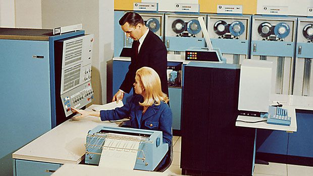 information about mainframe computer Mainframe computers, created in the early 1940s, initially were bulky machines   mainframe computers store massive amounts of information.