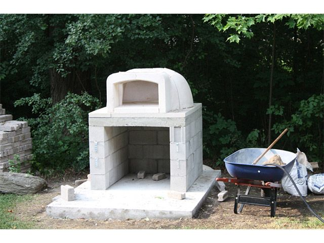 Cinder Block Outdoor Fireplace Plans Related Pictures