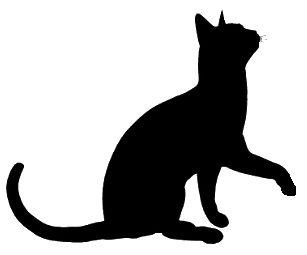Sleeping Cat Silhouette - ClipArt Best | Cat quilt, Cat ...