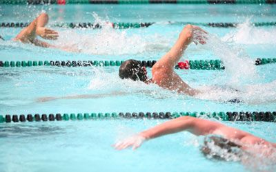 Simple Swim Workouts...if only I could find someone to go to lap swim with me in the mornings...