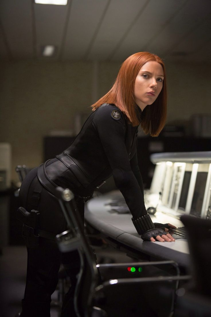 Scarlett Johansson as Natasha Romanoff/Black Widow - Captain America: The Winter Soldier