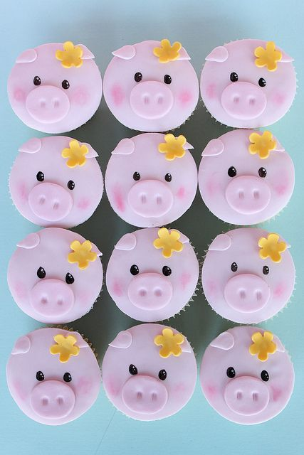 Little Piggies by Sharon Wee Creations, via Flickr