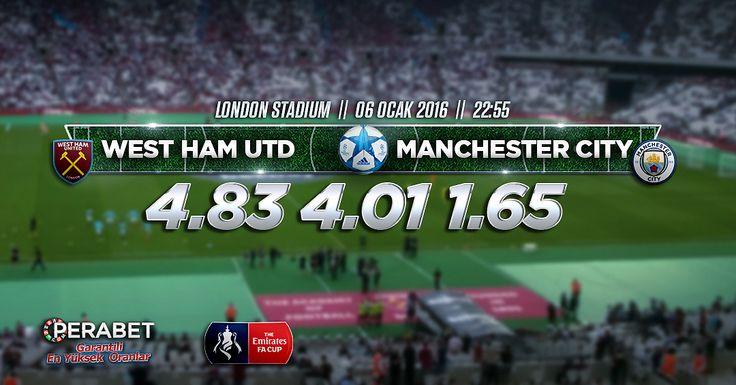 West Ham United – Manchester City #FACup 3. turda karşı karşıya gelen #WestHamUnited ile #ManchesterCity tek maçlı sistemse kozlarını paylaşacak. Favori ekip City olarak gözükse de tarihinde kendilerine her zaman ters gelmiş bir ekip olan West Ham deplasmanına çıkıyorlar. Diğer etkinliklerimiz ve maç esnasında #Canlıbahis seçeneklerimiz ile #Enyüksekbahisoranları #Perabet'te. Bugün: 22.55 http://perabet90.com