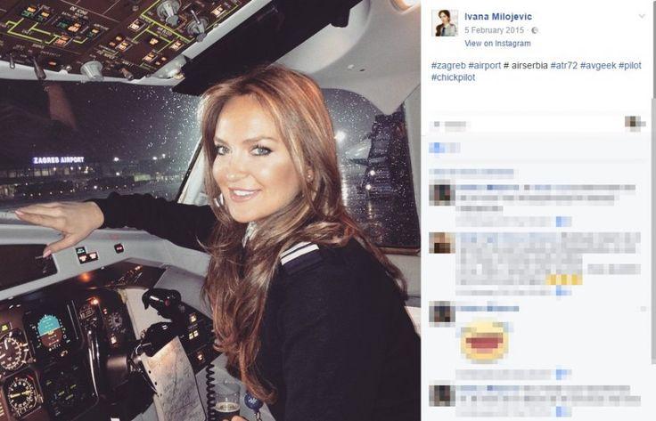 Ivana Milojević, Pilot at Air Serbia