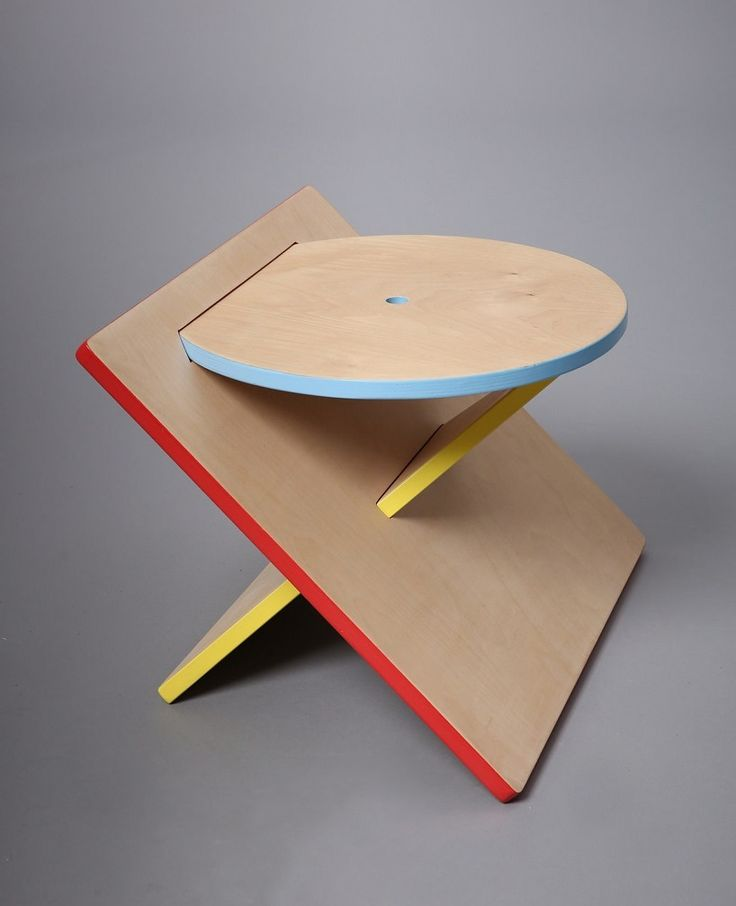"""""""Bauhaus Stool"""" from a graphic designer based in New York Catherine Lee"""