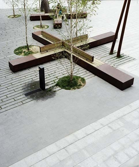 An entry from coffee blueprints mobiliario urbano for Mobiliario urbano contemporaneo