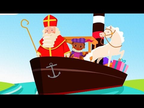 Zie ginds komt de stoomboot - Sinterklaasliedjes Album - YouTube