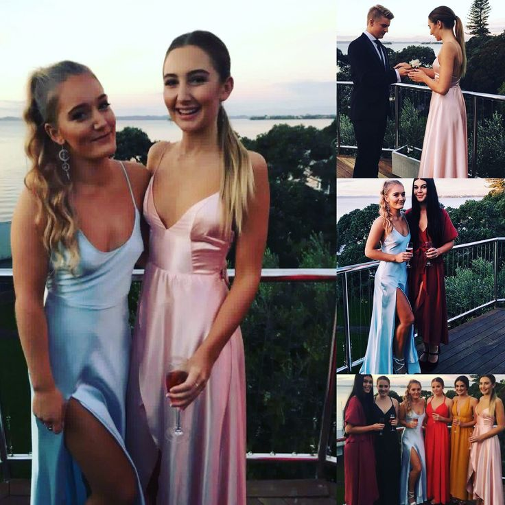 My two ball girls looking stunning on the night , made to order in baby blue and pale pink 🎀