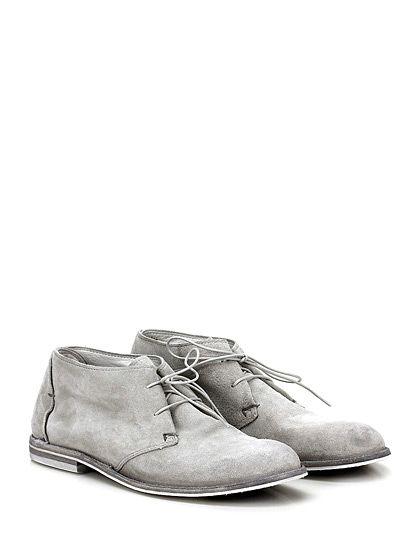 PANTANETTI - Scarpa bassa - Donna - Scarpa bassa in camoscio con suola in cuoio e gomma, tacco 20. - BIANCO