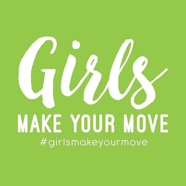 Did you know that less than half of girls aged 15-17 do enough moderate or high level physical activity? Let's change this. It's time to get active! Get some ideas on how using the link in our bio #girlsmakeyourmove #girlsmove