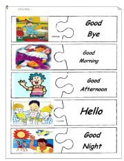 English teaching worksheets: Greetings Más