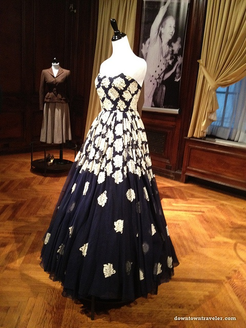 Evita Peron evening gown at Argentine Consulate_Sep 13 2012 by Downtown Traveler, via Flickr