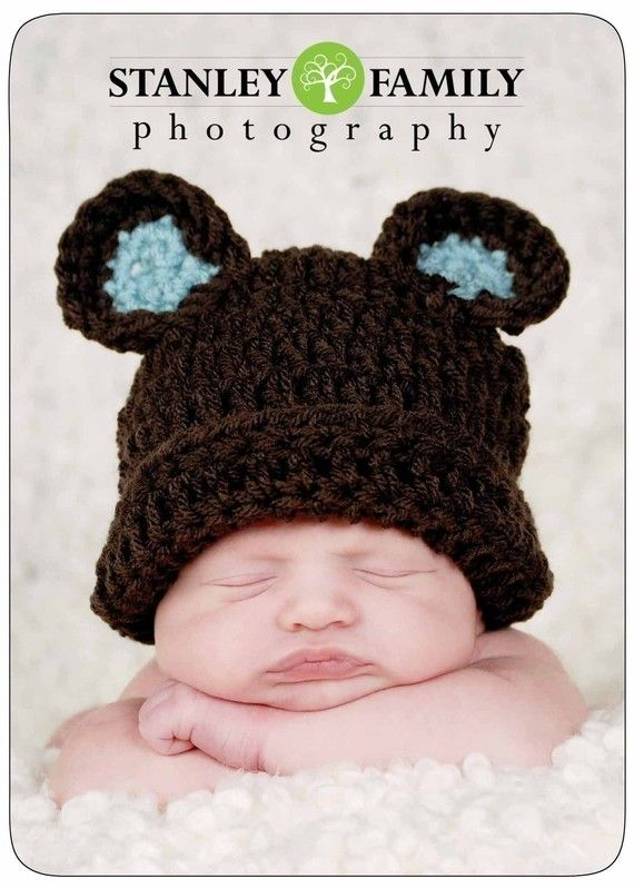 Newborn photos!Bears Hats, Newborns Boys, Newborns Baby, Newborns Photos, Hats Crochet, Boys Bears, Newborns Pics, Baby Newborns, Baby Bears