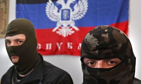 Inside the 'Donetsk People's Republic': balaclavas, Stalin flags and razorwire