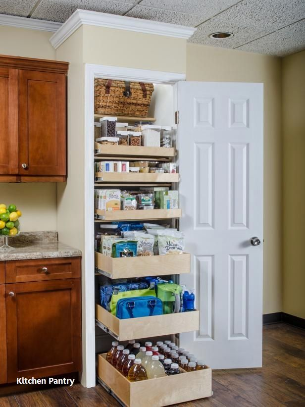 Pantry Ideas For Storage