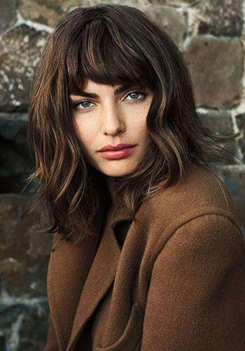 une coupe au carr cheveux onduls pour la rentre coupes cheveux coiffure - Coloration Ton Sur Ton Dfinition