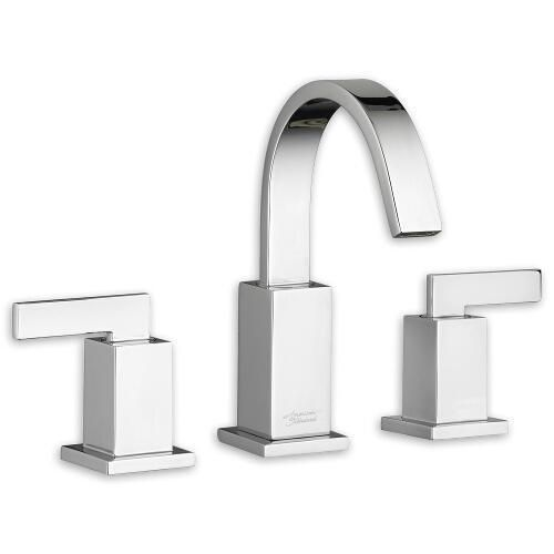 "American Standard ""Times Square"" 8'' Widespread Bathroom Sink Faucet"