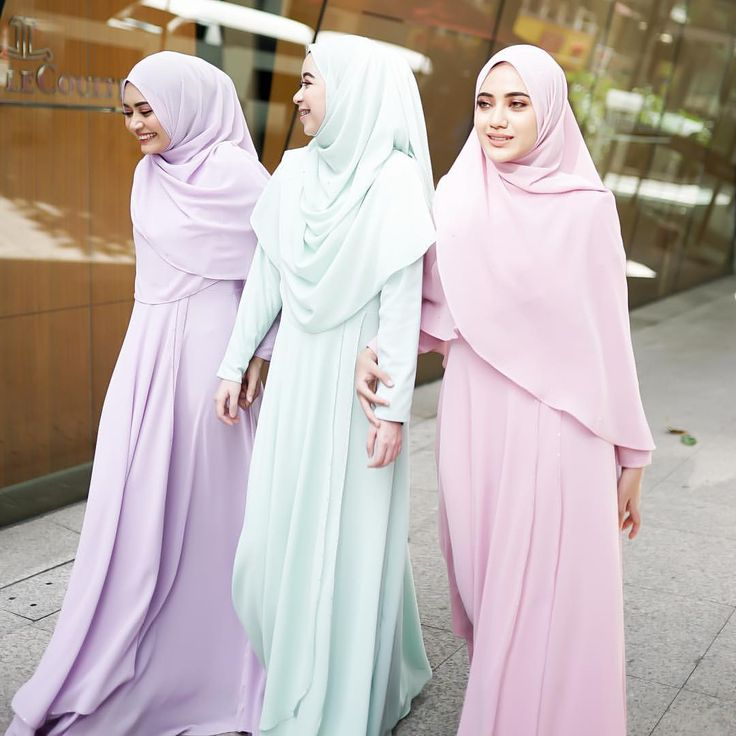 "137 Likes, 9 Comments - Malaysia's No 1 Trendsetter❤️ (@byfatinsuhana) on Instagram: ""Siapa nak Qadira in pastel colours ni❤️ . credit @azmwhb"""