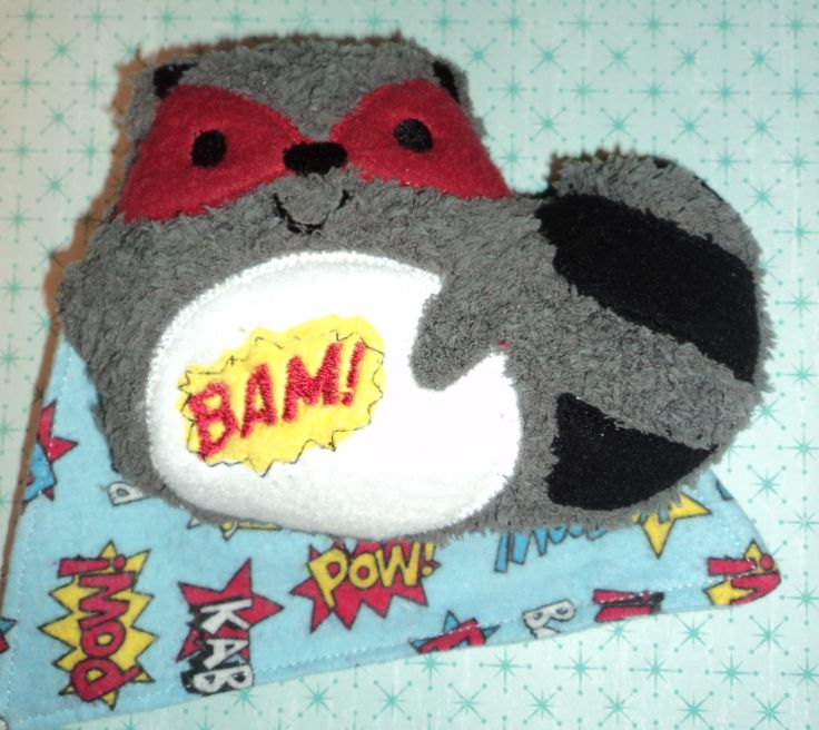 Super Hero Raccoon- Available upon request