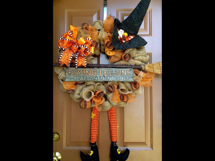 Flying lessons wreath